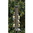 Aspects Quick-Clean Large Nyjer Tubular Feeder - Brushed Nickel