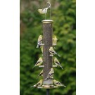 Aspects Quick-Clean Large Nyjer Tubular Feeder - Antique Brass