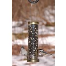 Aspects Quick-Clean Seed Small Tubular Feeder - Antique Brass