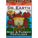 Dr. Earth Organic 3™ Rose Flower Fertilizer - 4 lb