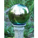 Traditional Mirrored Gazing Globe - 10 Inch - Arco Iris