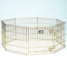 Gold Zinc Pet Exercise Pen - 24 in
