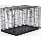 Dog Crate - Double Door I-Crate - 36 in x 23 in x 25 in