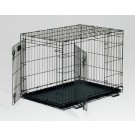 Life Stages Double Door Dog Crate - 30 in x 21 in x 24 in