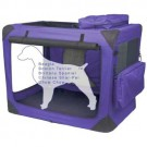 Delux Soft Crate Generation II - Lavender - 30 in