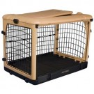 The Other Door Steel Crate - Tan and Black - 42 in