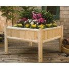Rustic Cedar Raised Planter