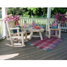 Rustic Cedar Porch Rocking Chair