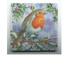 Coasters - Holiday Winter Bird - Set of 4