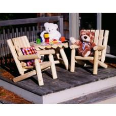 Rustic Cedar Junior Log Chair
