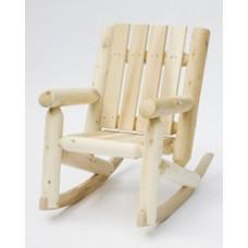 Rustic Cedar Junior Log Rocking Chair